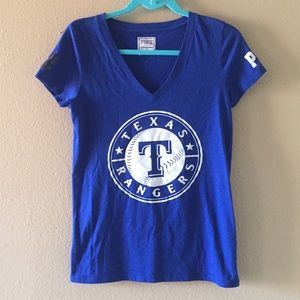 PINK by Victoria's Secret Texas Rangers top